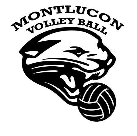 logo montlucon volley noir mannequin challenge